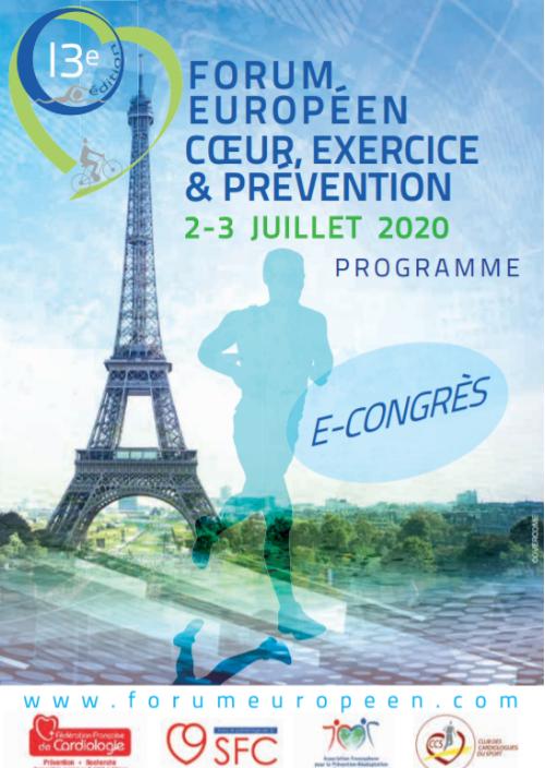 Forum Européen Coeur, Exercice et Prévention