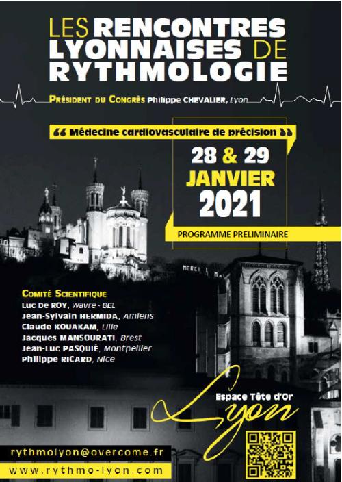 Les Rencontres Lyonnaises de Rythmologie
